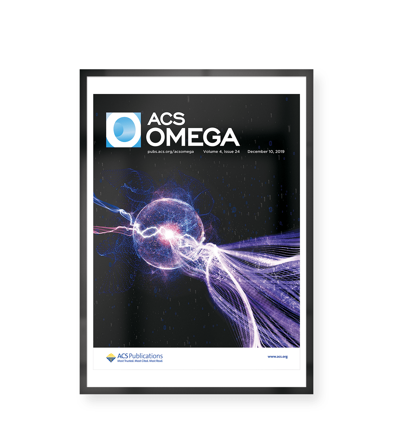 Cover Image of ACS Omega representing the research of Dr. Alessandra Sutti and Dr David Ruben De Celis Leal et al: